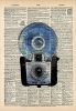 Vintage Dictionary Art 8x10' Print - Brownie Camera