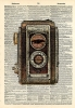 Vintage Dictionary Art 8x10' Print - Twin Lens Camera