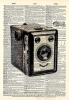 Vintage Dictionary Art 8x10' Print - Smile Camera