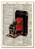 Vintage Dictionary Art 8x10' Print - Bellows