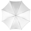 "Westcott 32"" Optical White Satin Umbrella"